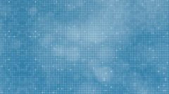 Blue reflect dots abstract background. Stock Footage