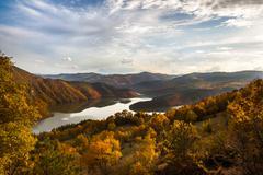 Autumn landscape - stock photo Stock Photos