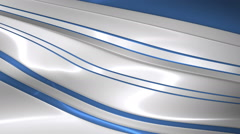 Abstract Glossy Metal Surface Stock Footage