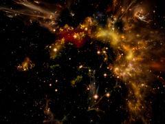 Astral Nebula - stock illustration