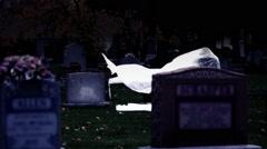 Graveyard Spirit Stock Footage