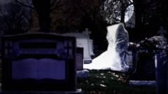Graveyard Spirit Stock Footage
