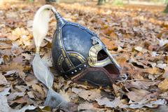 Viking helm Stock Photos