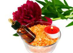 Aromatherapy set - stock photo