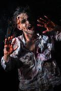 Scary zombie cosplay Kuvituskuvat