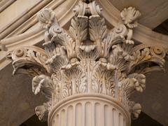 Corinthian Pillar - stock photo