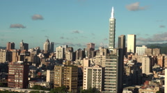 Taipei city,Taiwan Stock Footage