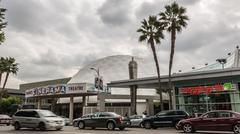 Pacific's Cinerama Dome Theatre Stock Photos