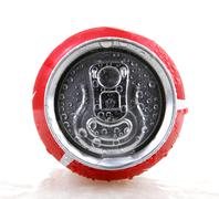 AYTOS, BULGARIA - JANUARY 25, 2014: Coca-Cola bottle can isolate Stock Photos