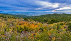 La sal mountain byway in the fall Stock Photos