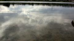 (Prefect Loop) Ripple Shore Lake Reflection Stock Footage
