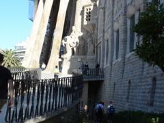 La Sagrada Familia. Related clips are in my portfolio in 1920x1080. Stock Footage