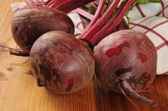fresh beets - stock photo