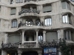Casa Mila or La Pedrera. Related clips are in my portfolio in 1920x1080. Stock Footage