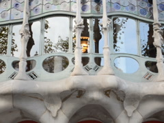 Gaudi's creation. Related clips are in my portfolio in 1920x1080. Stock Footage