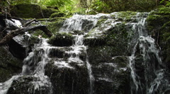 Top of Waterfall - stock footage