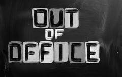 Stock Illustration of Out Of Office Concept