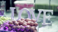 Candies love Stock Footage
