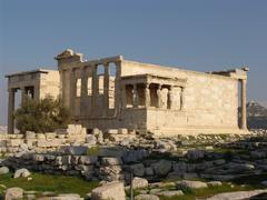 Acropolis of Athen with Parthenon Temple Stock Photos