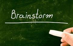 Stock Illustration of brainstorm concept