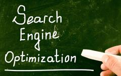 Stock Illustration of search engine optimization