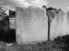 ancient stone - stock photo