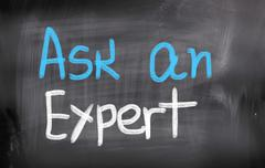 Ask An Expert Concept - stock illustration