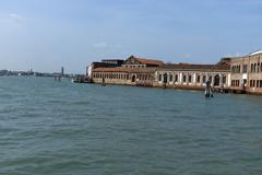 Murano island near Venice Stock Photos