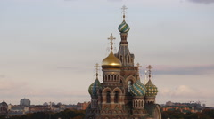 Russia, St Petersburg, Saviour on Spilled Blood Church Stock Footage