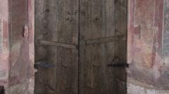 Russian church gate - stock footage