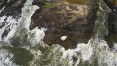 Coastal Oregon Aerial Stock Footage