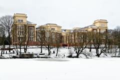 kaliningrad regional court. kaliningrad (until 1946 koenigsberg), russia - stock photo