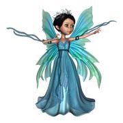 Little Fairy Butterfly Stock Photos
