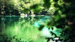 Hidden paradise - stock footage