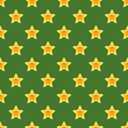 Retro christmas texture with stars Stock Illustration