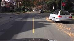 Sacramento Suburbs, middle class Stock Footage