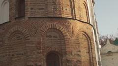 Ukraine, ancient Orthodox churches Stock Footage