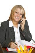 Freindly Businesswoman Stock Photos