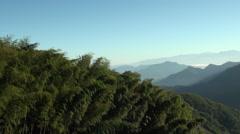 Asian mountain in Taroko Gorge, Taiwan Stock Footage