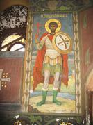 new aphon monastery. abkhazia - stock photo
