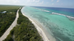 Cayman islands Aerial Stock Footage