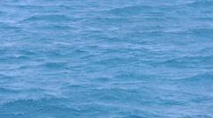 Deep blue sea Stock Footage