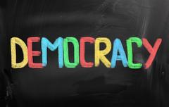 Democracy Concept - stock illustration