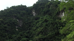 Asian mountain in Taroko Gorge, Taiwan Stock Footage