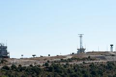 Radar station in desert Kuvituskuvat