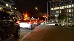 Street traffic - DSC 0056 Stock Footage