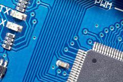circuit board - stock photo