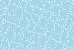 Jigsaw pattern Stock Illustration
