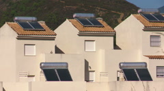 Stock Video Footage of Sustainable power housing