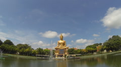 Buddha bless. Time Lapse Stock Footage